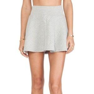 Soft Joie Knit Grey Cotton Skirt - S